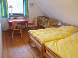 Ferienhaus Sokollek - Elternschlafzimmer
